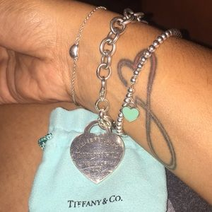 Showing some of my T&Co bracelet collection